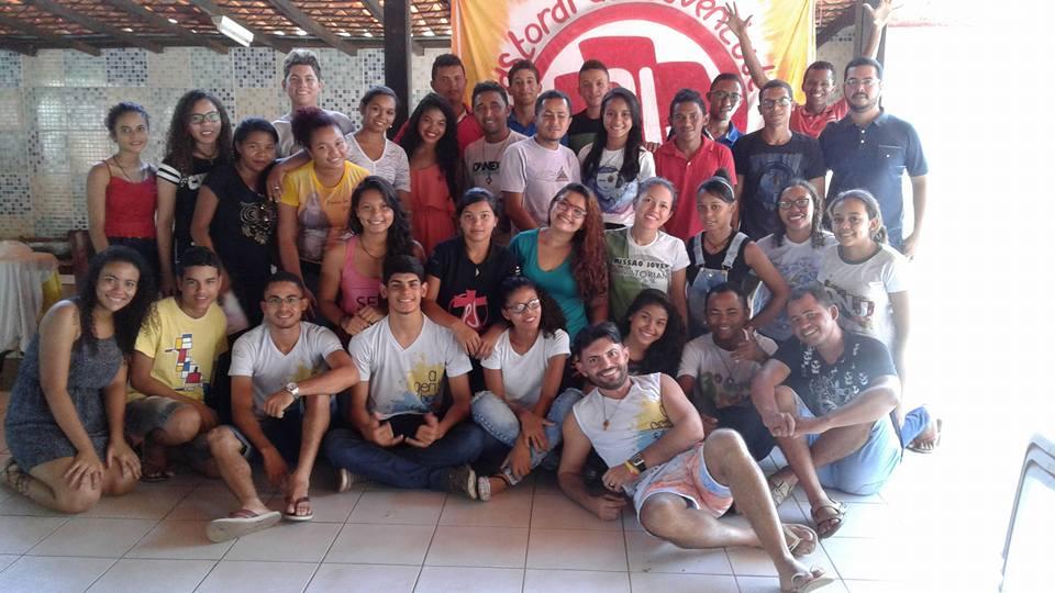 Etapa presencial do Curso de capacitação para líderes jovens no Maranhão