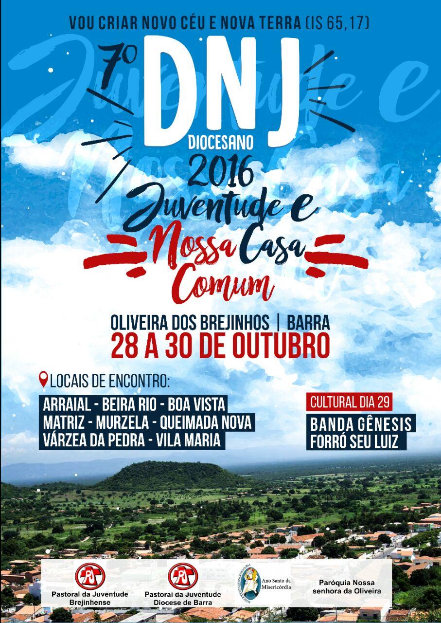 Diocese de Barra, na Bahia, realizará DNJ no próximo final de semana