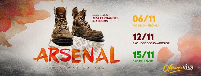 "Musical: ""Arsenal – As armas da Paz"""