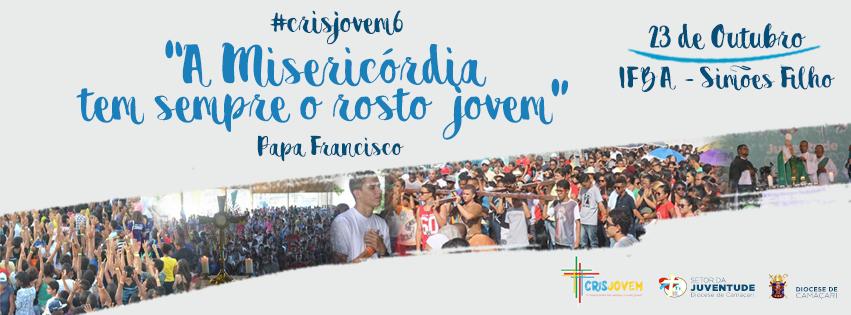 """""""A misericórdia tem sempre o rosto jovem,""""diocese de Camaçari celebrará DNJ"""