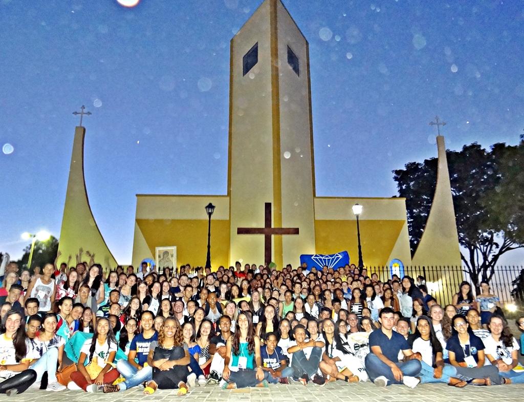 Ijaci acolhe os jovens para a celebração do DNJ da Diocese de São João Del-Rei (MG)