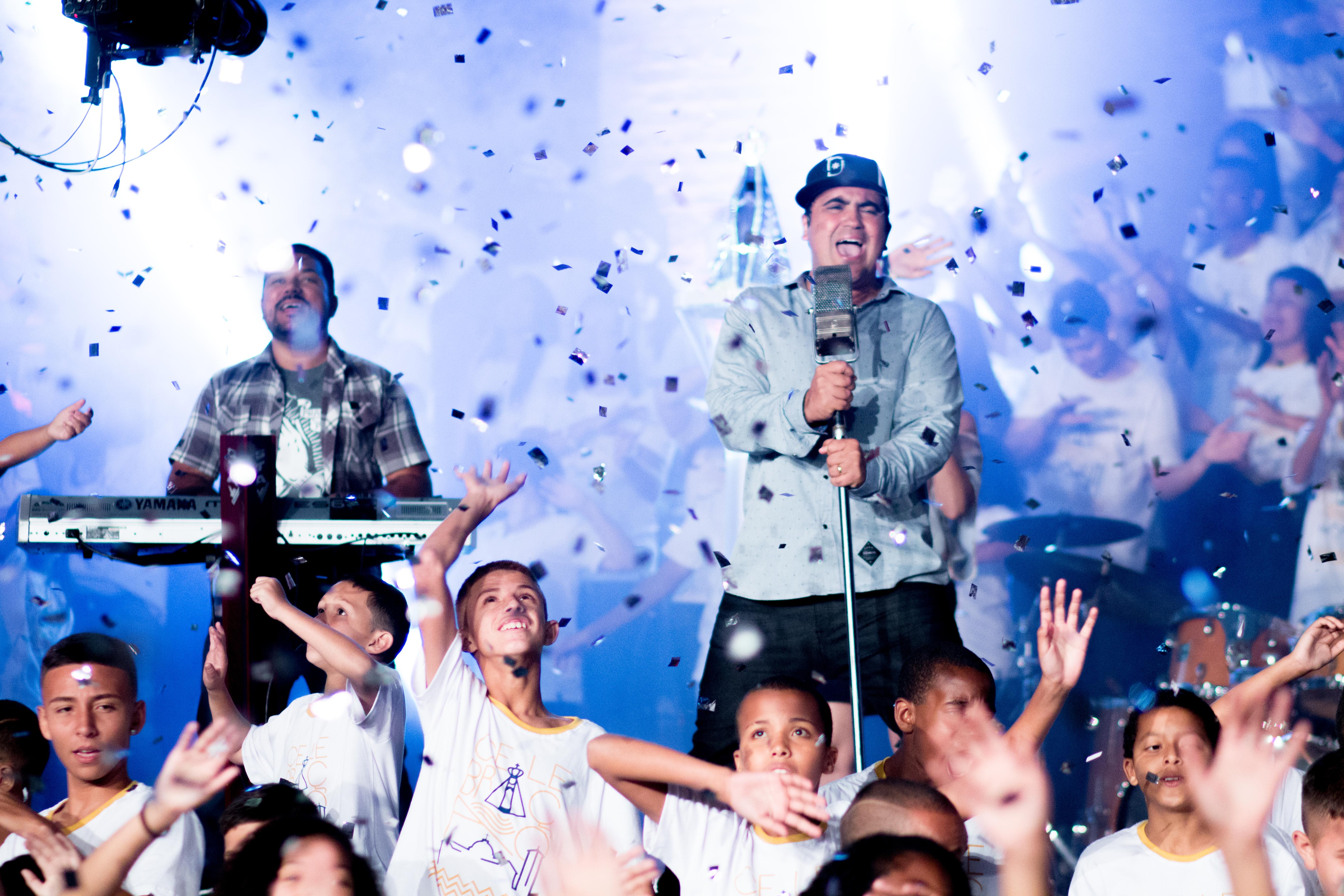 Clipe de Celebração é lançado em parceria com o Santuário Nacional de Aparecida