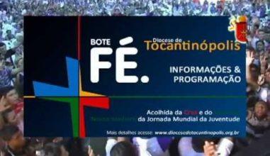 Tocantinópolis (TO) recebe hoje Cruz e Ícone da JMJ