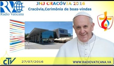 Ao vivo: Chegada do Papa Francisco a Cracóvia para a JMJ