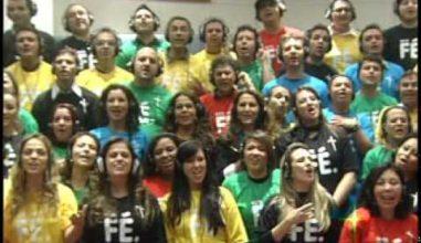 Bote Fé: Artistas Católicos gravam clipe para a chegada da Cruz da Jornada ao Brasil