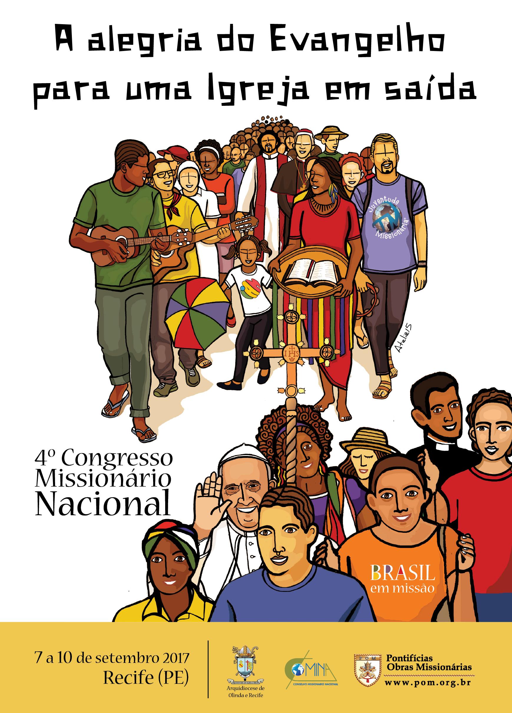 Divulgado cartaz do 4º Congresso Missionário Nacional