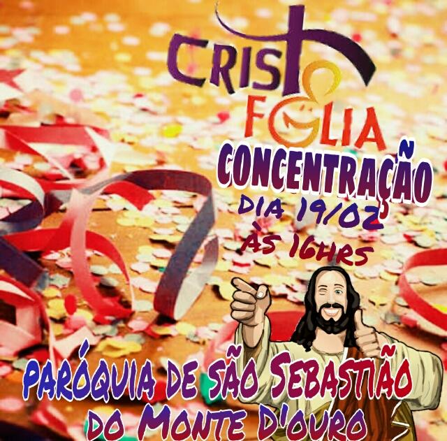 Diocese de Valença (RJ) realiza o Cristo Folia