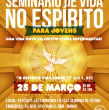 Canção Nova Rio promove Seminário de Vida no Espírito para Jovens
