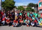 Alegria e disposição na III Missão Jovem em Campo Limpo (SP)