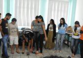 """Juventude Missionária na Amazônia: """"desamarremas sandálias"""""""
