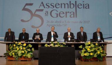 Teve início a 55ª Assembleia Geral da Conferência Nacional dos Bispos do Brasil (CNBB)