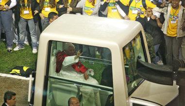 Lembra o que o Papa Bento disse a você no Pacaembu?