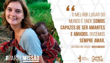 #PartiuMissão Confira a experiência missionária da Jovem gaúcha na África