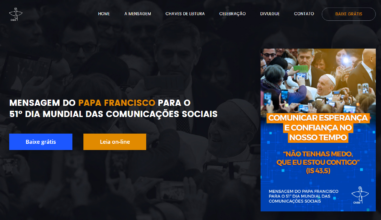 CNBB lança site de divulgação da mensagem para o 51º Dia Mundial das Comunicações Sociais