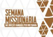 Inscrições para Semana Missionária 2017