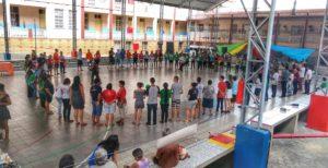 Juventude Promoveu Manifestação Cultural em Manaus