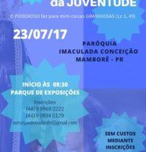 Diocese de Campo Mourão (PR) prepara a JDJ