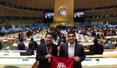 Jovens Católicos representam o Brasil na ONU