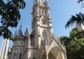 Jovens fazem peregrinação no Dia de Nossa Senhora da Boa Viagem, Padroeira de Belo Horizonte