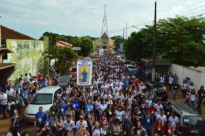 Mais de 4500 jovens da Diocese de Dourados participaram da JDJ