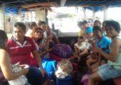 Juventude Missionária, em missão na Ilha Trambioca no Pará