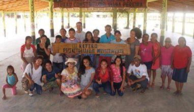 Juventude Missionária de Roraima se reúne em comunidade indígena