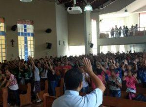 Dia Nacional da Juventude na Cidade de Muriaé, Diocese de Leopoldina
