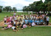 """Jovens participam do """"Acampamento Jovens Conectados – Ser Santo Sem Deixar de Ser Jovem"""" na Diocese de Ituiutaba"""