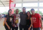 Jovens participantes do ENPJ seguem para encontro com Papa