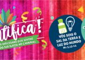 Jovens da Diocese de Amparo terão encontro de carnaval
