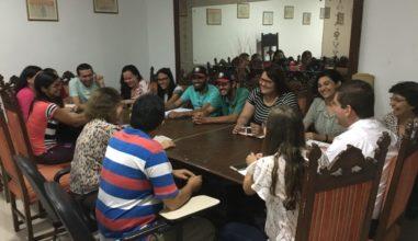 Setor juventude de Campina Grande realiza reunião de planejamento para as atividades de 2018