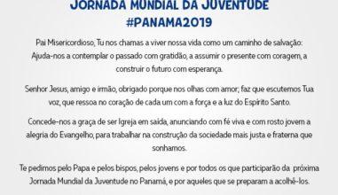 Oração oficial da JMJ Panamá 2019 é apresentada aos jovens
