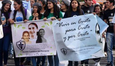 """Papa diz que beatificação de """"Chiquitunga"""" é exemplo de vida para jovens"""