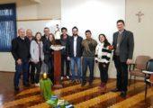 Setor Juventude da Diocese de Cruz Alta recebe visita regional