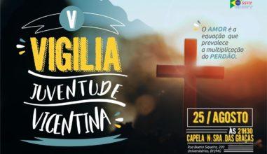 Vigília da Juventude Vicentina acontece em Belo Horizonte (MG)