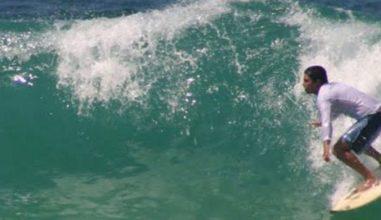 Trecho da Praia do Recreio é batizado com nome de 'anjo surfista'