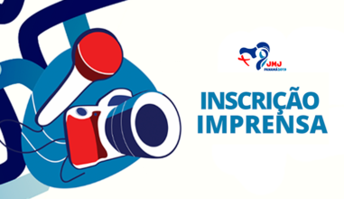 Aberto credenciamento de imprensa para JMJ 2019