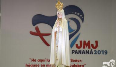 Imagem de Fátima levará ao Panamá a graça da indulgência durante a JMJ