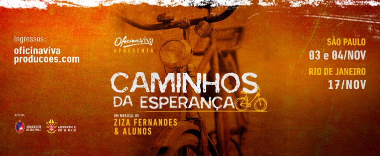 Fazenda da Esperança é tema de Musical em São Paulo e Rio de Janeiro em novembro