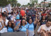 Jovens da Diocese de Piracicaba (SP) celebram o DNJ