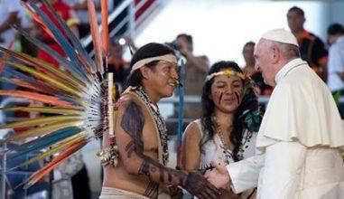 Indígenas brasileiros na JMJ Panamá 2019