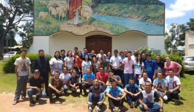 Setor Diocesano da Juventude da Diocese São Luiz de Cáceres/MT realiza formação anual