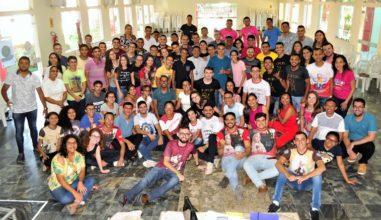 Setor Juventude realiza Formação com Lideranças Juvenis na Diocese de Iguatu/CE