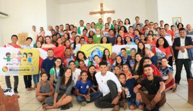 Juventude Missionária do Pará sai em missão