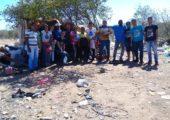 Juventude Missionária de Patos (PB) visita aterro