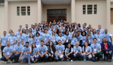 Jovens cursilhistas da região sudeste se reuniram em Barbacena (MG)