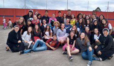 Clélia'sDay: jovens promovem ação missionária no Paraná