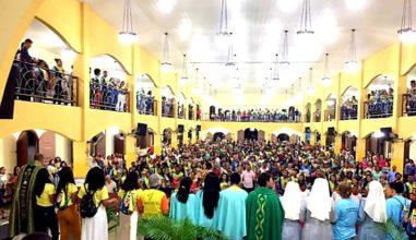 """JDJ na Diocese de Alagoinhas teve como tema """"Deus é Jovem! Ide e anunciai…"""""""