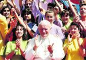 Do coração de João Paulo II ao coração dos jovens!