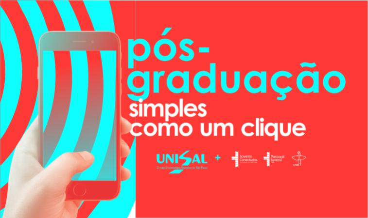 Fácil como um Clique: Estão abertas as inscrições para os cursos de Pós-graduação da Pastoral Juvenil!